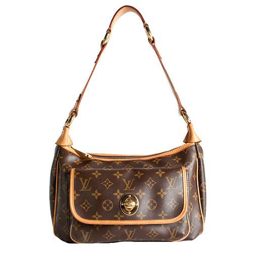Louis Vuitton Monogram Canvas Tikal GM Shoulder Handbag
