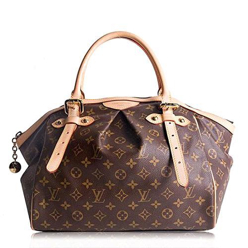 Louis Vuitton Monogram Canvas Tivoli GM Satchel Handbag