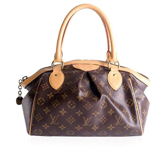 Louis Vuitton Monogram Canvas Tivoli PM Satchel Handbag
