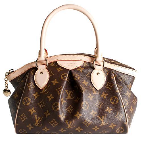 Louis Vuitton Monogram Canvas Tivoli PM Satchel Handbag