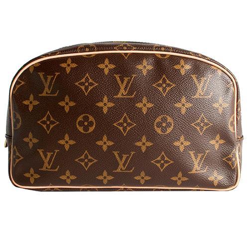Louis Vuitton Monogram Canvas Toiletry Bag 25 Cosmetic Bag