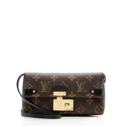 Louis Vuitton Monogram Canvas Triangle Wallet Shoulder Bag
