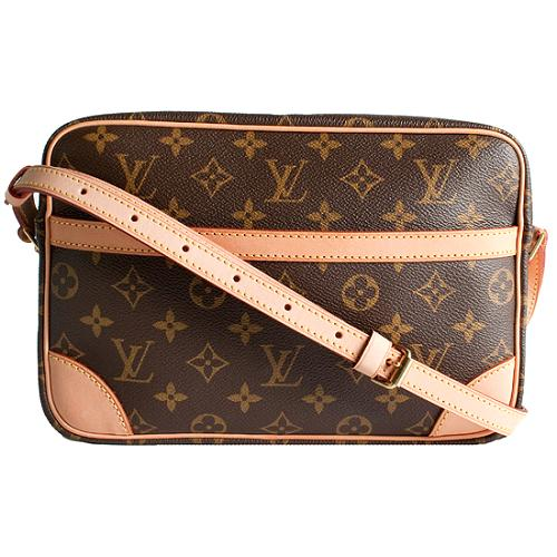 Louis Vuitton Monogram Canvas Trocadero 27 Shoulder Handbag
