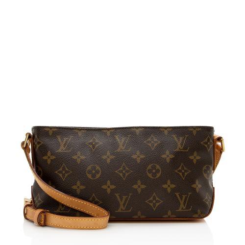 Louis Vuitton Monogram Canvas Trotteur Shoulder Bag