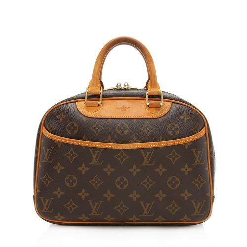 Louis Vuitton Monogram Canvas Trouville Satchel