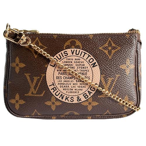 Louis Vuitton Monogram Canvas Trunks & Bags Mini Accessoires Pochette Handbag