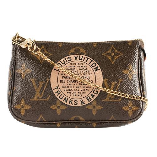 8cfa0a32ea1a Louis-Vuitton-Monogram-Canvas-Trunks-and-Bags -Mini-Pochette-Accessoires-Handbag 45305 front large 1.jpg