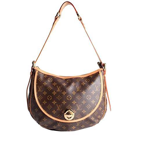 Louis Vuitton Monogram Canvas Tulum GM Shoulder Handbag