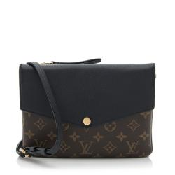 Louis Vuitton Monogram Canvas Twinset Shoulder Bag