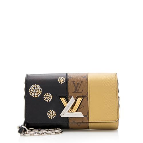 Louis Vuitton Monogram Canvas Twist Chain Wallet