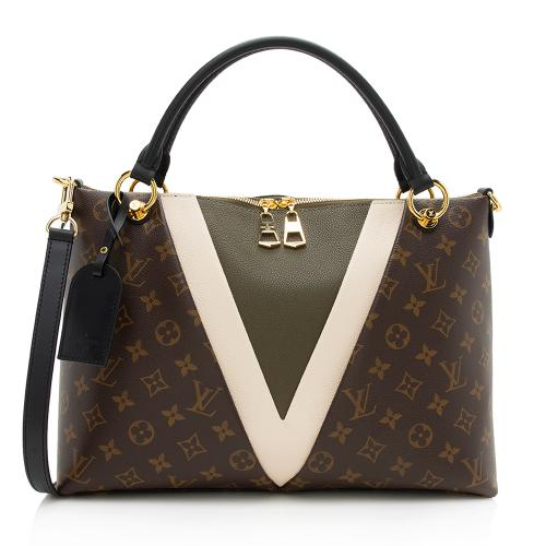 Louis Vuitton Monogram Canvas V Tote MM