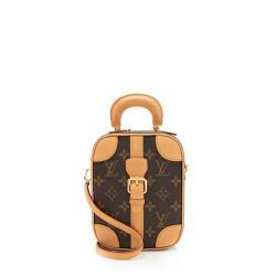 Louis Vuitton Monogram Canvas Valisette Verticale Shoulder Bag