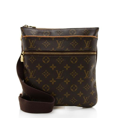Louis Vuitton Monogram Canvas Valmy Pochette Messenger Bag