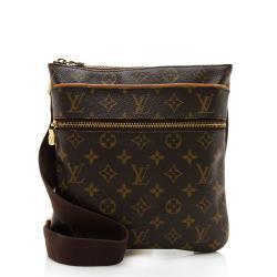 Louis Vuitton Monogram Canvas Valmy Pochette Messenger Bag