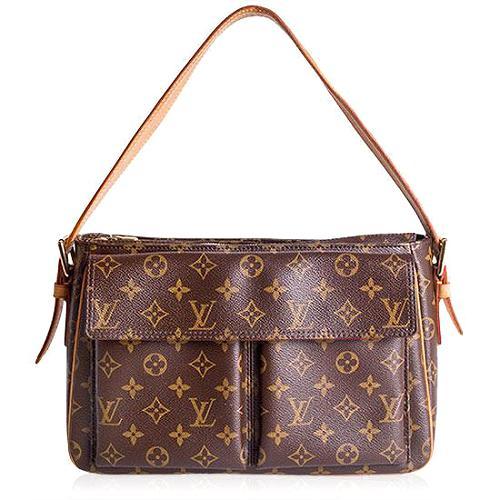 Louis Vuitton Monogram Canvas Viva-Cite GM Shoulder Handbag