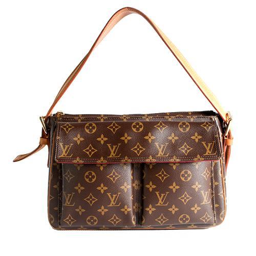 Louis Vuitton Monogram Canvas Viva Cite GM Shoulder Handbag