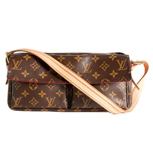 Louis Vuitton Monogram Canvas Viva Cite MM Shoulder Handbag
