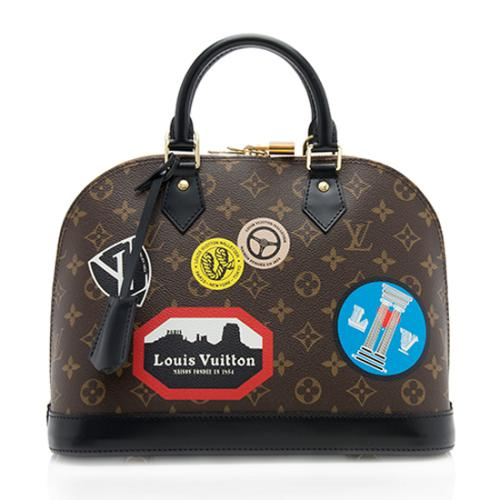 Louis Vuitton Monogram Canvas World Tour Alma PM Satchel
