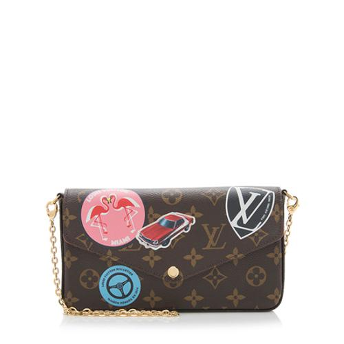 Louis Vuitton Monogram Canvas World Tour Felicie Pochette