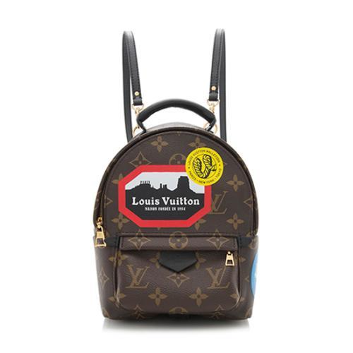 Louis Vuitton Monogram Canvas World Tour Palm Springs Mini Backpack