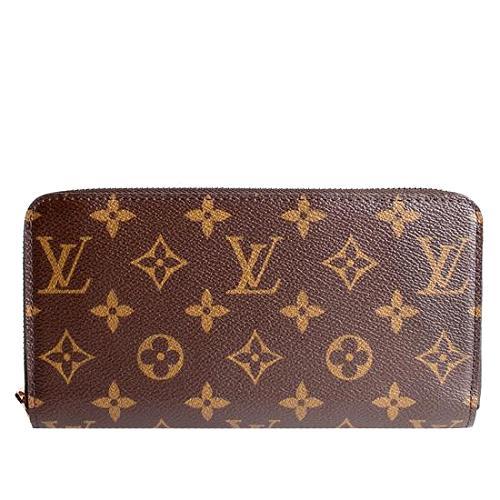 Louis Vuitton Monogram Canvas Zippy Wallet