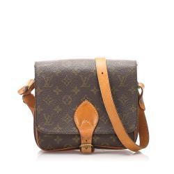 Louis Vuitton Monogram Canvas Cartouchiere MM Shoulder Bag