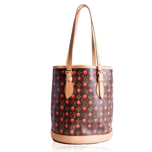 Louis Vuitton Monogram Cerises Bucket Tote