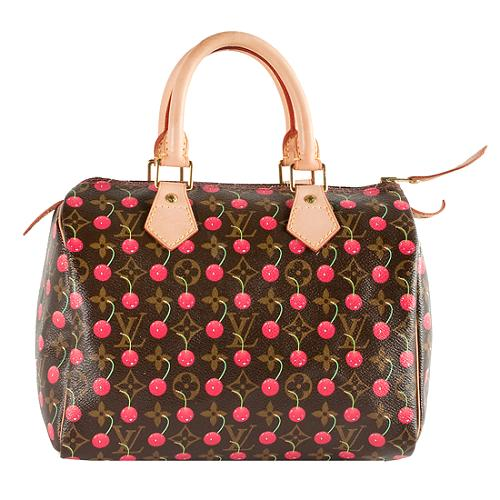 1c428d500b3f Louis-Vuitton-Monogram-Cerises-Speedy-25 -Satchel-Handbag 48037 front large 1.jpg