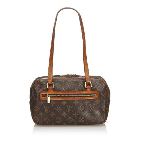 Louis Vuitton Monogram Canvas Cite MM Shoulder Bag - FINAL SALE
