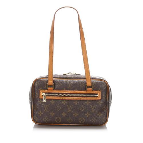 Louis Vuitton Monogram Canvas Cite MM Shoulder Bag