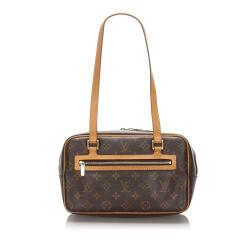 Louis Vuitton Monogram Canvas Cite MM Shoulder Bag