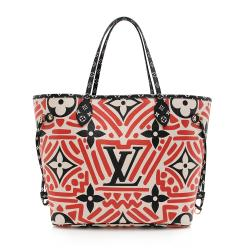 Louis Vuitton Monogram Crafty Neverfull MM Tote