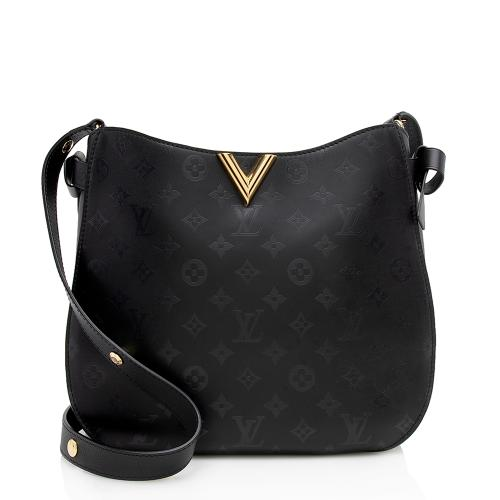 Louis Vuitton Monogram Cuir Plume Very Hobo