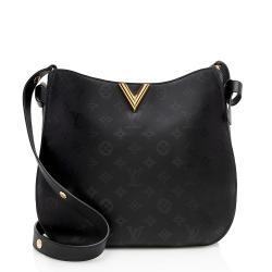 Louis Vuitton Monogram Cuir Plume Very Hobo