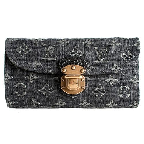 Louis Vuitton Monogram Denim Amelia Wallet