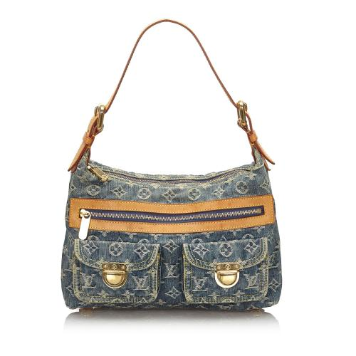 Louis Vuitton Monogram Denim Baggy PM Shoulder Bag