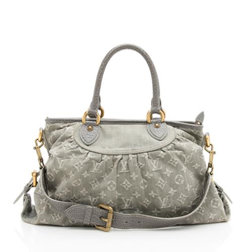 Louis Vuitton Monogram Denim Neo Cabby MM Satchel