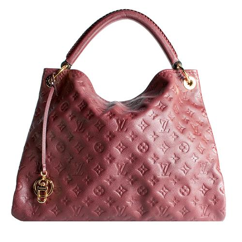 Louis Vuitton Monogram Empreinte Artsy MM Shoulder Handbag