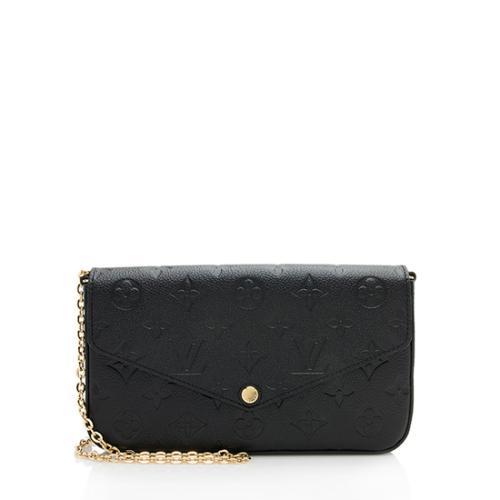 Louis Vuitton Monogram Empreinte Felicie Wallet On Chain Bag