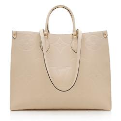 Louis Vuitton Monogram Empreinte Onthego GM Tote