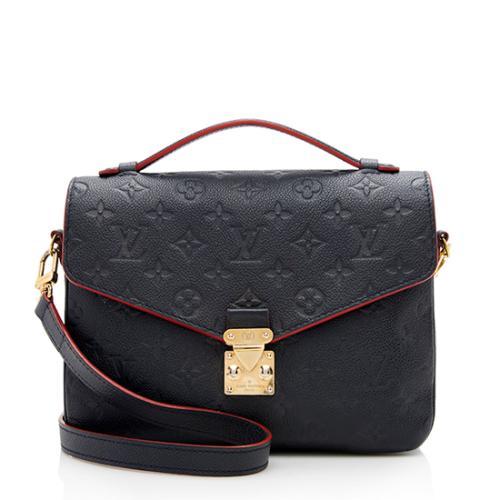 Louis Vuitton Monogram Empreinte Pochette Metis Shoulder Bag