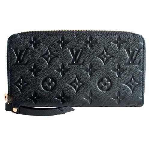 Louis Vuitton Monogram Empreinte Secret Long Zip Wallet