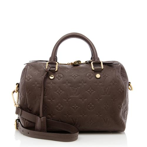 29c2d30f5f29 Louis-Vuitton-Monogram-Empreinte-Speedy-Bandouliere-25 -Satchel 77112 front large 0.jpg