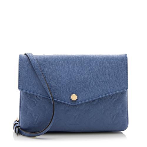 Louis Vuitton Monogram Empreinte Twinset Shoulder Bag