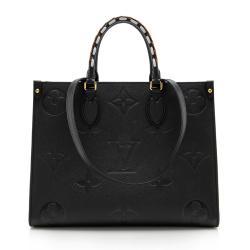 Louis Vuitton Monogram Empreinte Wild Onthego MM Tote
