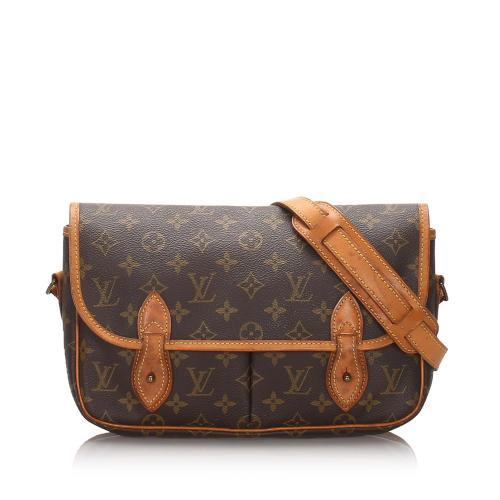Louis Vuitton Monogram Canvas Gibeciere MM Messenger Bag