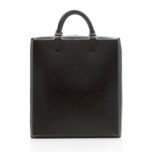 Louis Vuitton Monogram Glace Cafe Elvin Briefcase