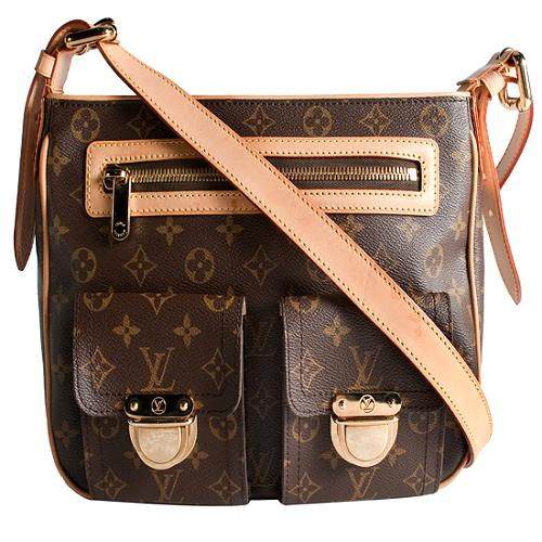 Louis Vuitton Monogram Hudson GM Shoulder Handbag