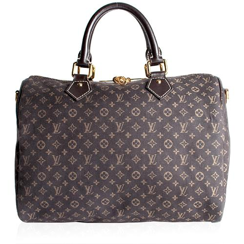 Louis Vuitton Monogram Idylle Speedy 30 Satchel Handbag
