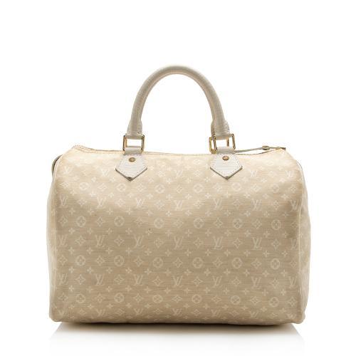 Louis Vuitton Monogram Idylle Speedy 30 Satchel